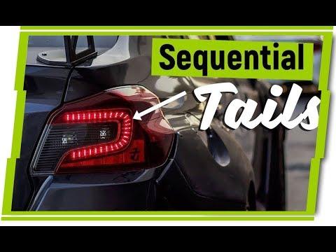 Subaru WRX DIY Parts | Dustin Williams Custom LED Tail Lights