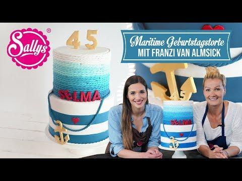 Geburtstagstorte Sylt / Mit Franzi van Almsick / Sallys Welt