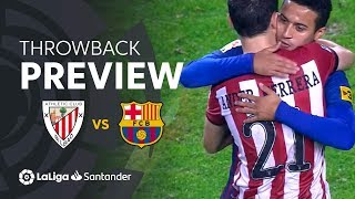 Throwback Preview: Athletic Club vs FC Barcelona (2-2)