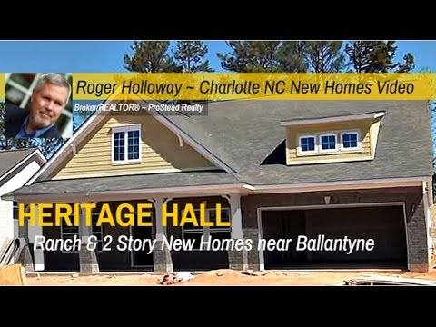 New Homes For Sale Near Ballantyne In Fort Mill Sc 29707