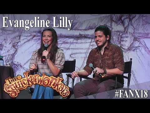 Evangeline Lilly - The Squickerwonkers Panel/Q&A - FanX 2018