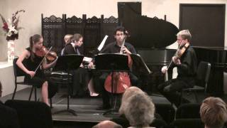 Cantando Piano Quartet - Brahms Piano Quartet in G Minor (II Intermezzo: Allegro ma non troppo)