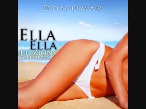 Don Omar Ft Zion y Lennox  Ella Ella Officiiall + Letraa ♫