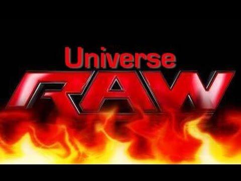 Universe- Raw (Week 8)