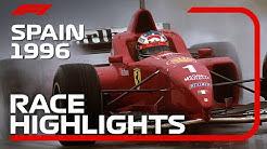 1996 Spanish Grand Prix: Race Highlights