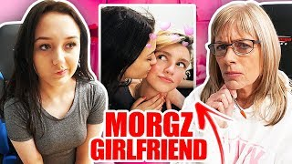 MOM INTERVIEWING MORGZ'S GIRLFRIEND... (exposed)