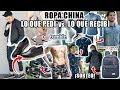 ROPA CHINA: LO QUE PEDÍ vs LO QUE RECIBÍ + OUTFITS | BANGGOOD + SORTEO