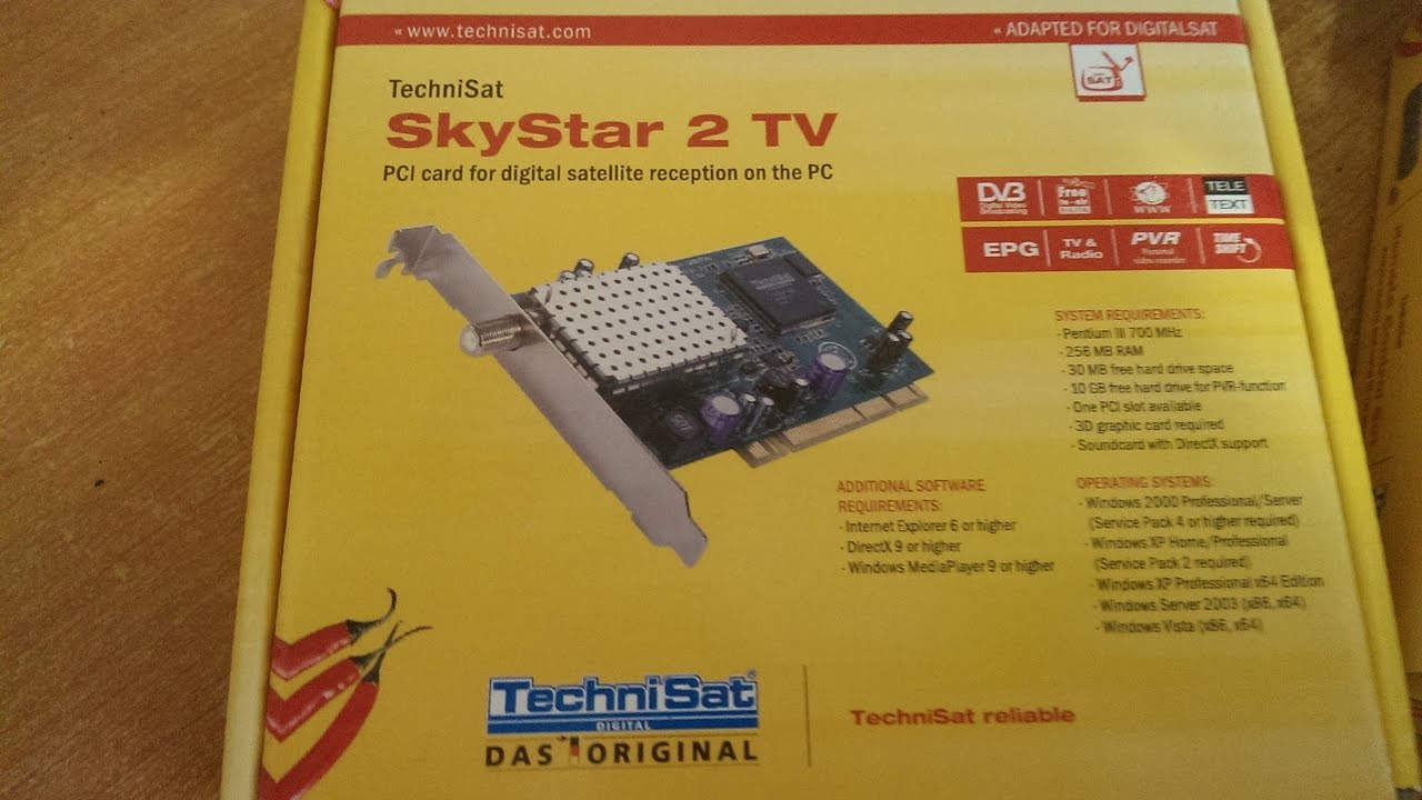 TechniSat SkyStar 1 DVB card Driver for Mac Download