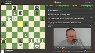Ben Finegold analyzes Viktor Korchnoi games!