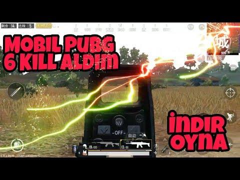 Mobil PUBG Oynadım 6 Kill Aldım Mobil PUBG İndir Oyna Mobil Pubg Ayarları