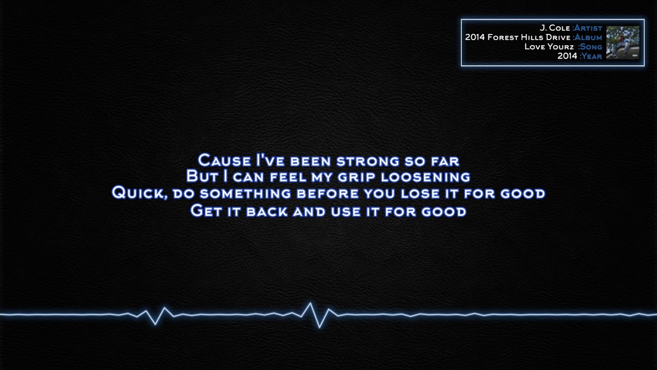 J. Cole - Love Yourz [Lyrics] - YouTube