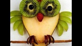 Как сделать сову из фруктов?- Фруктовый мастер - Fruitm(Видео урок: Как сделать сову из фруктов? Таким десертом можно украсить любой праздник! Здесь больше видео..., 2015-10-26T14:42:13.000Z)