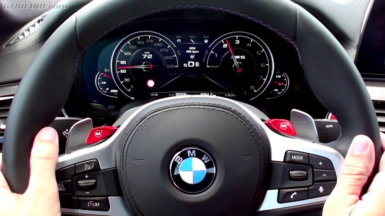 Instrumentcluster F90 Bmw M5 And It S Beautiful M Logo