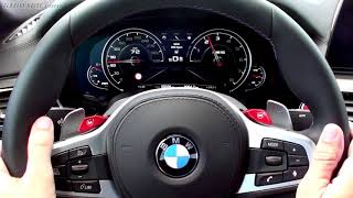 Instrumentcluster F90 BMW M5 and it