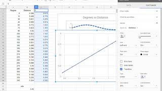 Polar Grid Example   Google Sheets   Step 9