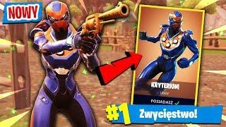 "*NOWY* LEGENDARNY SKIN ""KRYTERIUM""! | Fortnite (Battle Royale)"