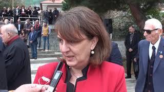 Ολοκαύτωμα Μεσοβούνου | Δήλωση Υφυπουργού Αγροτικής Ανάπτυξης Ολυμπίας Τελιγιορίδου