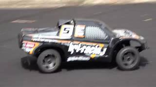 8/23/2017 - RC Car with chainsaw engine.