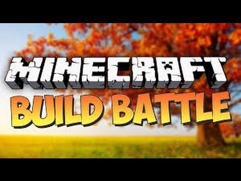 Minecraft build battle 1