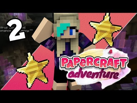 wait...THERE'S FOUR STICKERS!! Papercraft Adventure Ep 2