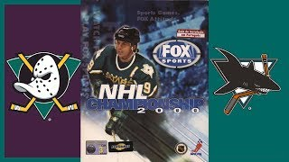 ePSXe - NHL Championship 2000 Gameplay - ANA vs SJS