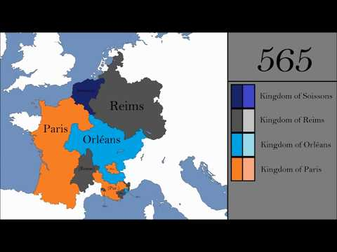 The Rise and Fall of the Frankish Empire