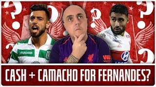 FERNANDES AGENT IN LONDON & FEKIR FOR CHEAP? | LFC Transfer News & Chat
