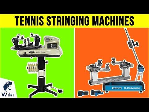 7 Best Tennis Stringing Machines 2019