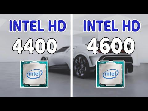 Intel HD 4400 VS Intel HD 4600 Graphics Comparison GTA V Benchmark