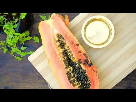 Miracle Food That Kills Intestinal Parasites in Humans - Papaya Seeds - DIY Natural Parasite Cleanse