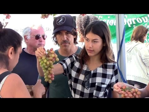 Anthony Kiedis And Supermodel Girlfriend Helena Vestergaard Shop Healthy