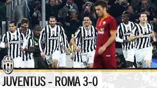 HIGHLIGHTS | Juventus vs Roma 3-0 | Serie A | 05/01/2014