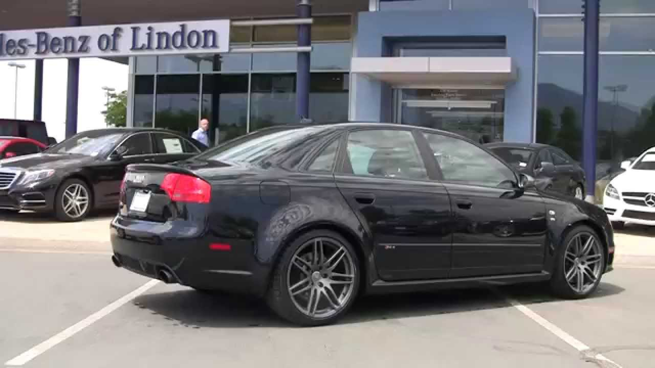 audi 2008 rs4 v8 8n902513 | mercedes-benz of lindon - youtube