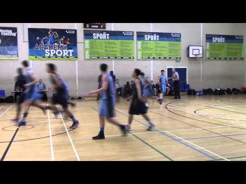 Bournville College @ Itchen College (EABL Basketball Elite Eight) - 9th March 2016