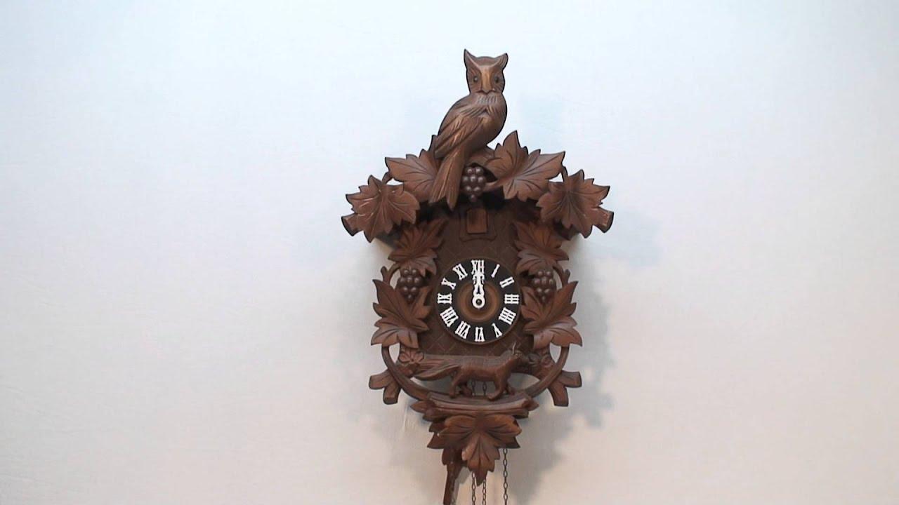 Owl and Fox Cuckoo Clock