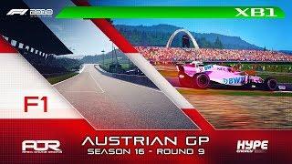 F1 2018   AOR Hype Energy F1 League   XB1 Oceania S3   R9: Austrian GP