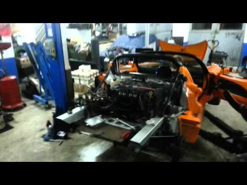 Elise S1 Engine swap for Sabre Heads Rover K-Series