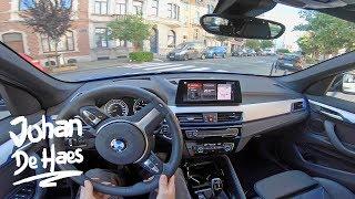 2019 BMW X1 sDrive18i 140 HP POV TEST Drive