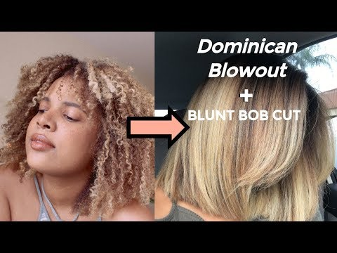dominican-blowout-on-natural-hair-+-blunt-bob-cut