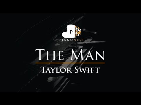 Taylor Swift - The Man - Piano Karaoke / Sing Along Cover With Lyrics