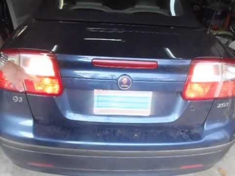 How to Replace Backup Lights and Rear Fog Lights on a Saab