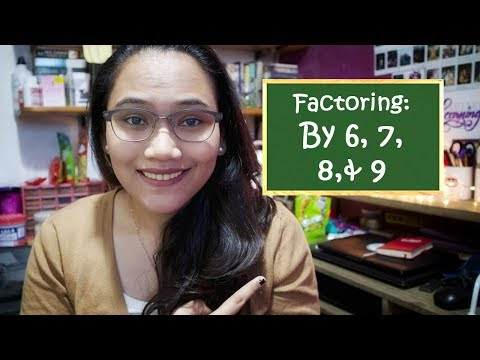 Factoring By 6, 7, 8, 9 - Speed Math Technique - Civil Service Review
