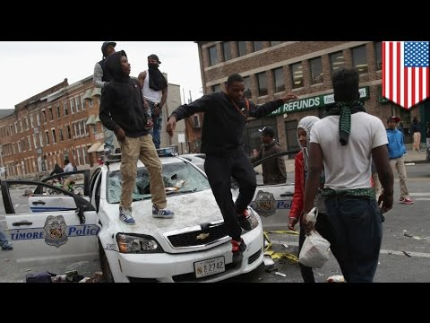 Baltimore state of emergency: Compiled video of the chaos and unrest in Baltimore - TomoNews