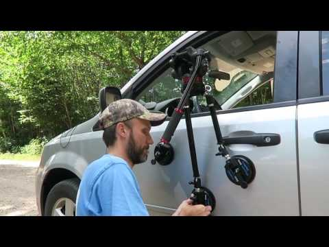 Best Affordable Pro Camera Car Mount|Camtree G-51 DSLR Gripper Suction Cup Review