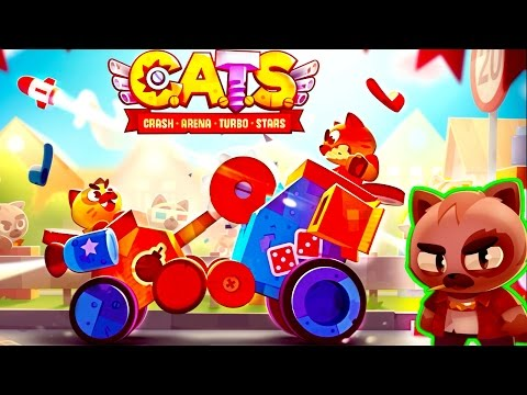 ВОЙНА КОТИКОВ видео для детей в детской игре C. A. T. S. веселая красочная мультяшная игра от FGTV