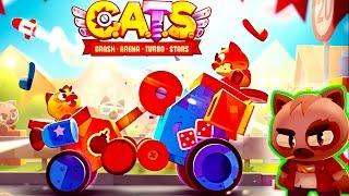 ВОЙНА КОТИКОВ видео   в   игре C. A. T. S. веселая красочная мультяшная игра от FGTV