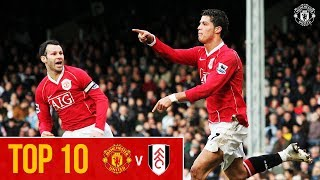 Top Ten Goals | Manchester United v Fulham | Premier League