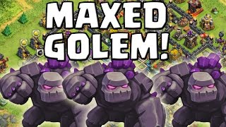 GOLEM LEVEL 5! || CLASH OF CLANS || Let's Play CoC [Deutsch/German HD Android iOS PC]