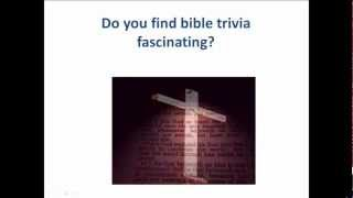 How to make non religious Bible trivia quizzes|fun Bible trivia|Non religious Bible trivia quiz