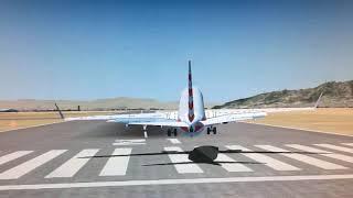 737 Landing 2 FSX